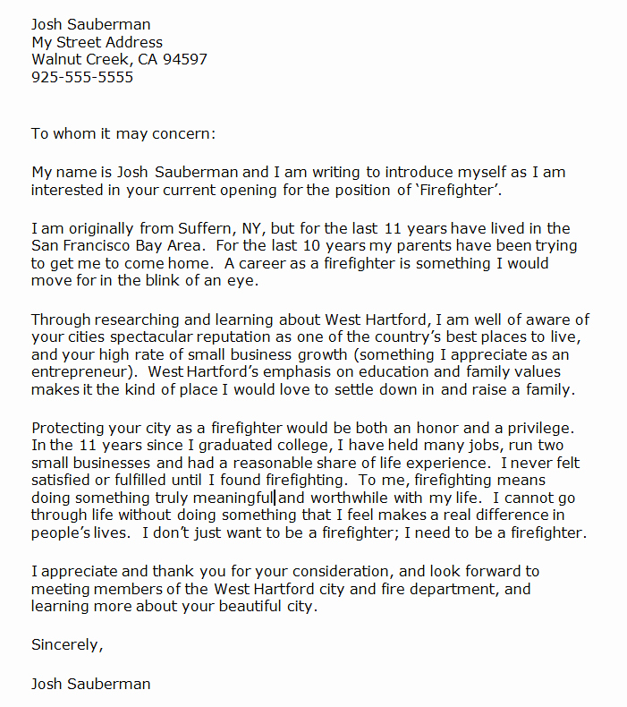 Buy Letter Of Recommendation Best Of Firefighter Letter Re Mendation Cover Letter