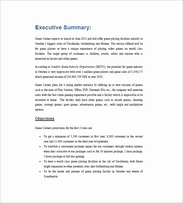 Cafe Business Plan Template New Cafe Business Plan Template – 14 Free Word Excel Pdf