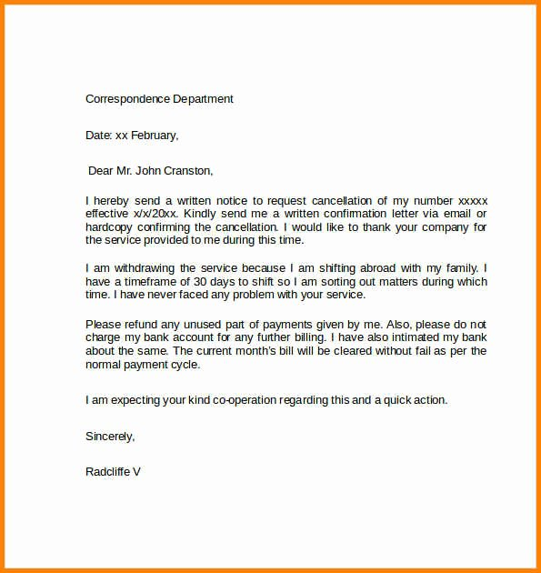 Cancel Timeshare Contract Sample Letter Beautiful 14 Cancellation Letter Of Purchase order Steamtraaleren