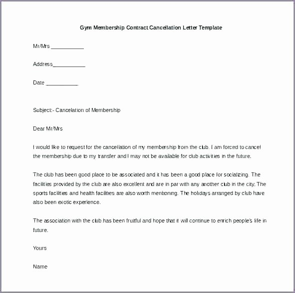 Cancel Timeshare Contract Sample Letter Lovely Contract Cancellation Letter Template – Bitwrk