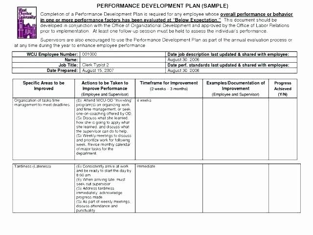 Capital Improvement Plan Template Beautiful Sample Process Improvement Plan Template