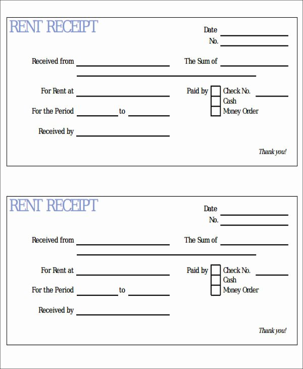 Car Rental Receipt Template New Car Payment Receipts 9 Examples In Word Pdf