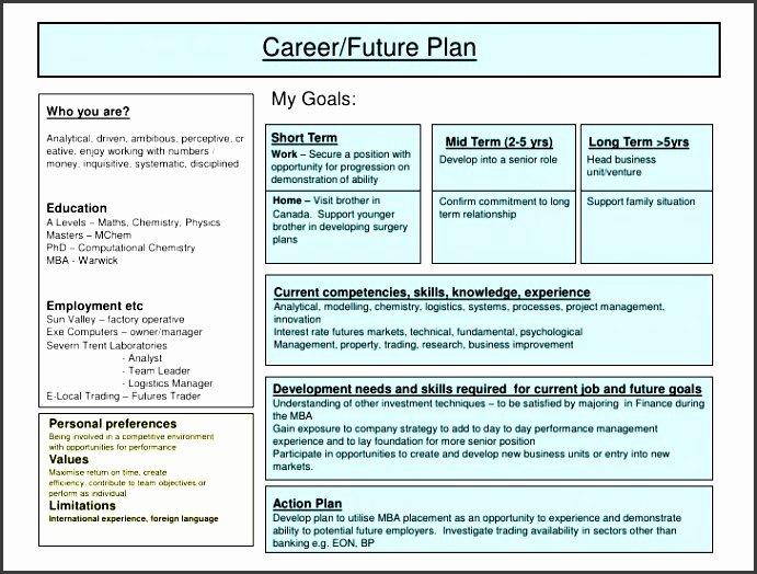 Career Action Plan Template Luxury 5 Job Action Plan Template Sampletemplatess