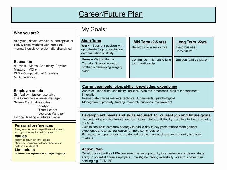 Career Development Plan Template New Best 25 Personal Development Plan Template Ideas On