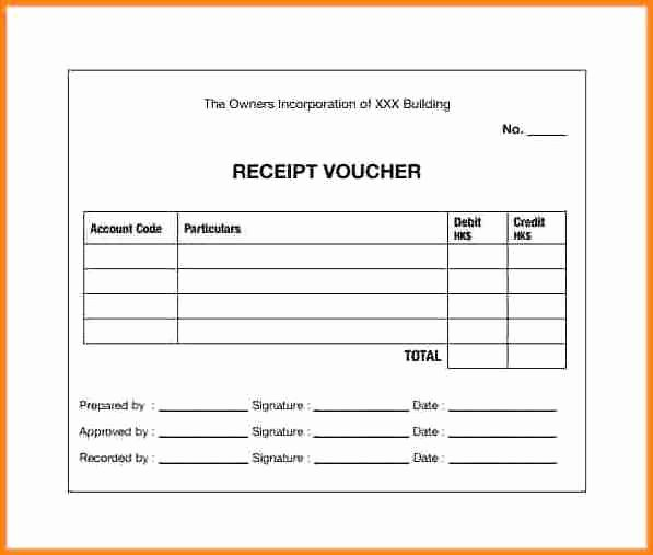 Cash Receipt format In Excel Lovely 7 Cash Payment Voucher format In Word
