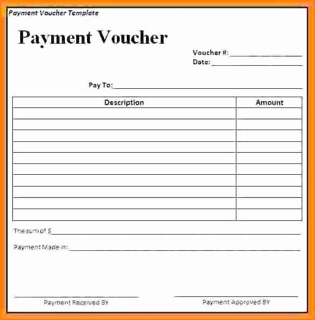 Cash Receipt format In Excel New 7 Cash Payment Voucher format In Word