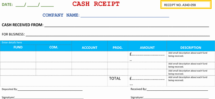 Cash Receipt format In Word Beautiful 21 Free Cash Receipt Templates for Word Excel and Pdf