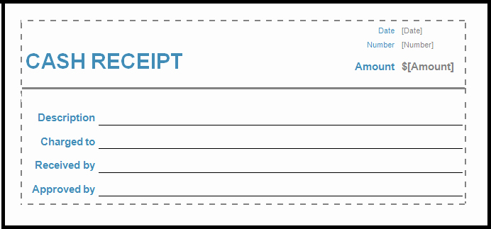 Cash Receipt format In Word Best Of Cash Receipt Template Word