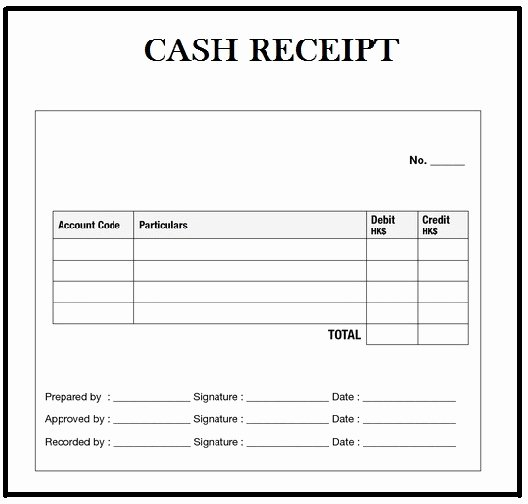 Cash Receipt format In Word Fresh Customizable Cash Receipt Template In Word Excel and Pdf