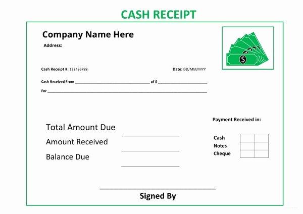 Cash Receipt Template Google Docs Elegant Cash Receipt Template 19 Free Word Excel Documents