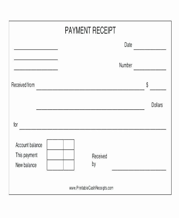 Cash Receipt Template Google Docs Inspirational Pany Receipt format Payment Templates Doc Free Premium