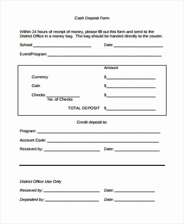 Cash Refund Receipt Template Awesome 40 Sample Receipt forms