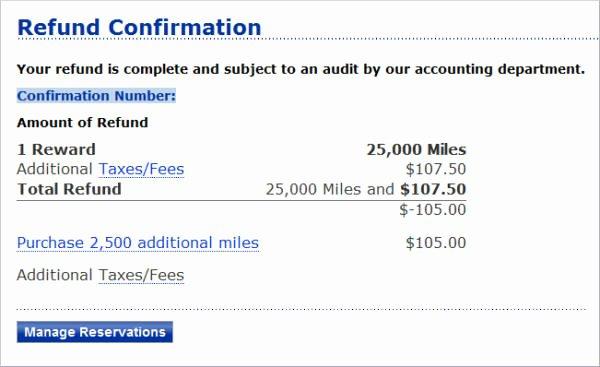 Cash Refund Receipt Template Fresh 6 Refund Receipt Samples & Templates