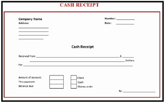 Cash Sale Receipt Template Word Awesome 6 Free Cash Receipt Templates Excel Pdf formats