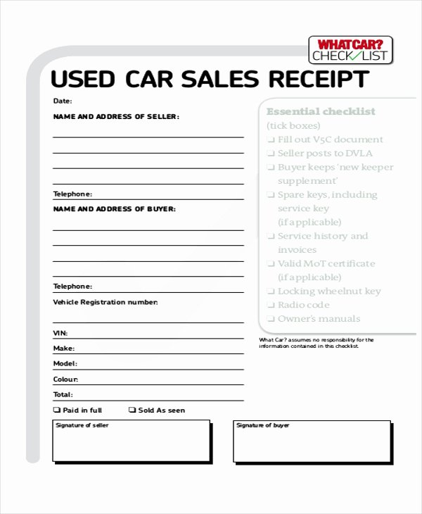 Cash Sale Receipt Template Word Awesome 7 Cash Sale Receipt Samples Examples In Word Pdf