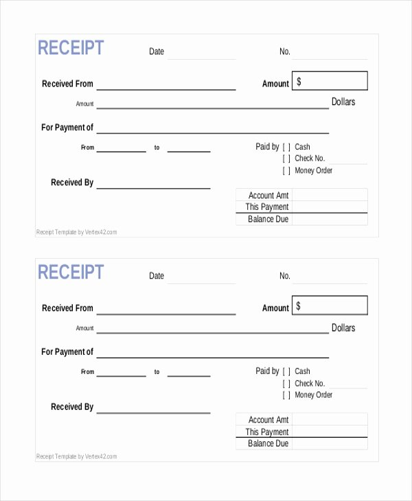 Cash Sale Receipt Template Word Awesome Sample Sales Receipt form 9 Free Documents In Pdf