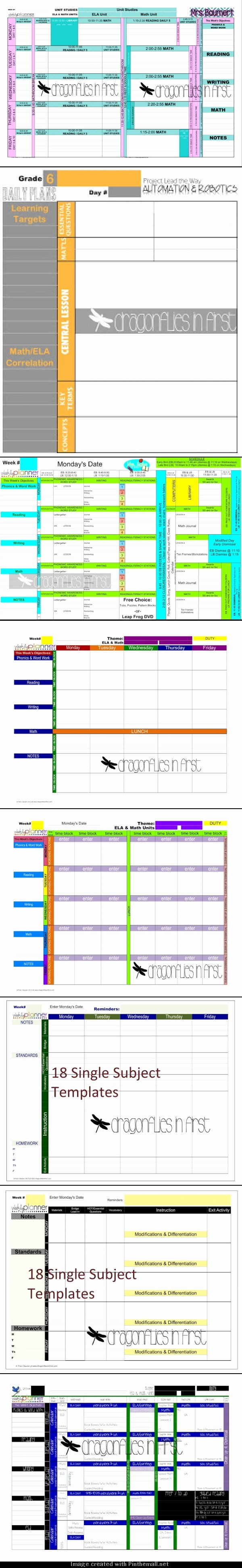 Ccs Lesson Plan Template Unique How to Customize Your Teacher Planner the Ultimate