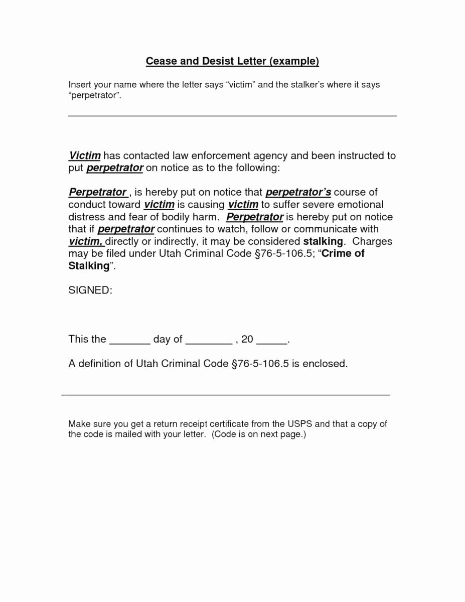 Cease and Desist Copyright Beautiful Cease and Desist Letter Patent Infringement Template