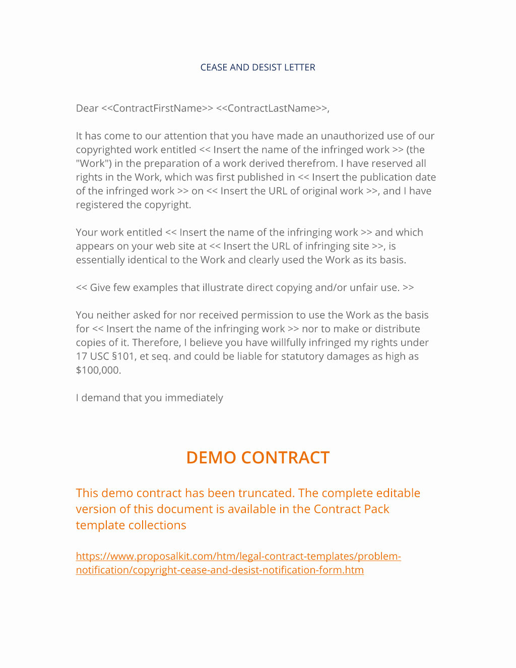 Cease and Desist Copyright Lovely Copyright Cease and Desist Notification form 3 Easy Steps