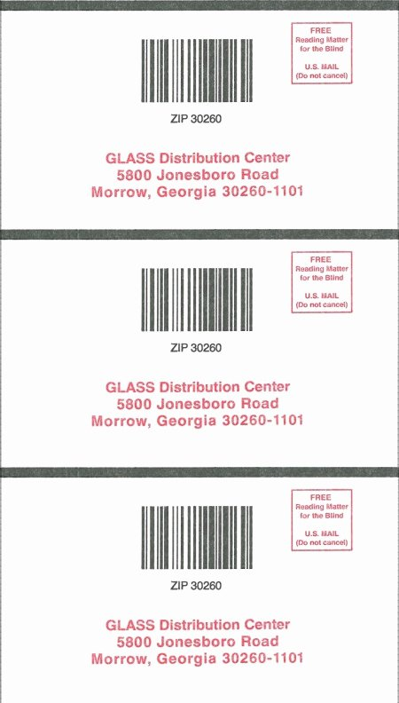 Charity Return Address Labels Beautiful Mailing Requests and Returns