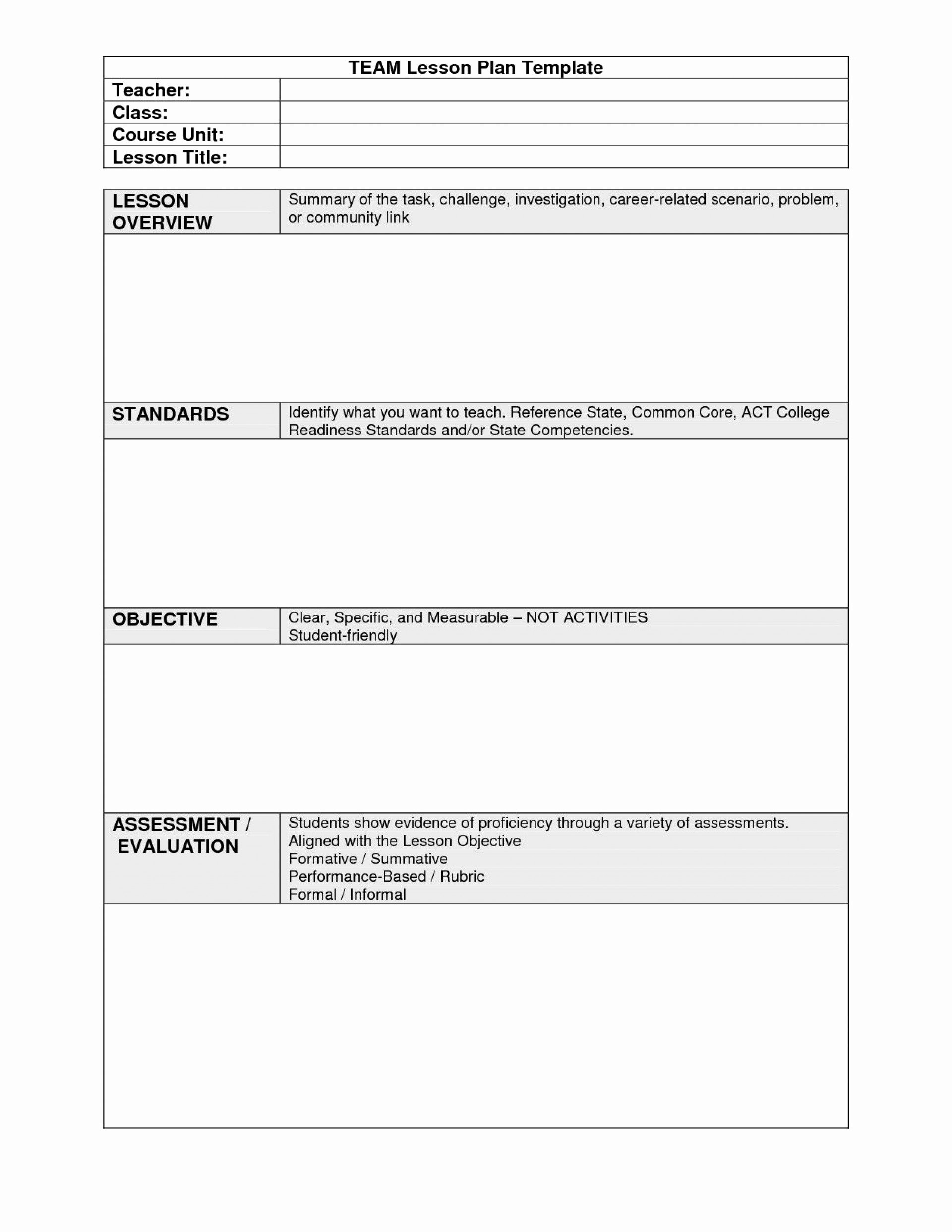 Charlotte Danielson Lesson Plan Template Fresh Excellent Lesson Plan Template Nyc Tinypetition