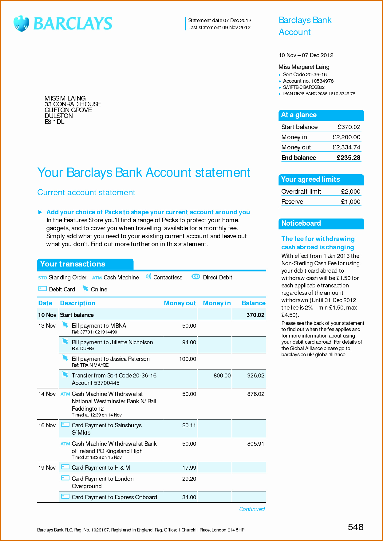 Chase Bank Proof Of Funds Letter New 8 Bank Statement Template