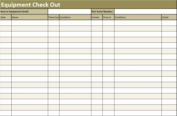 Check In Check Out Spreadsheet Inspirational Inventory Sheet Template 40 Ready to Use Excel Sheets