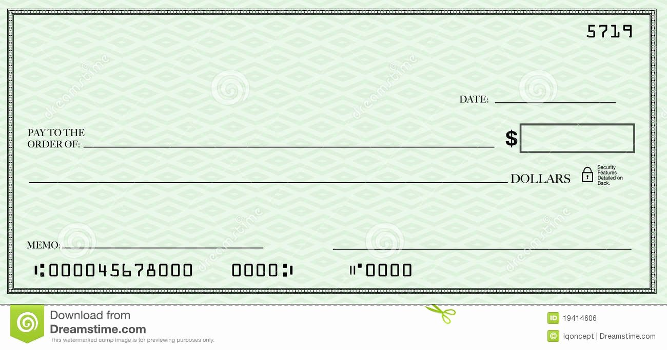 Check Template Filled Out Inspirational Blank Check Clipart