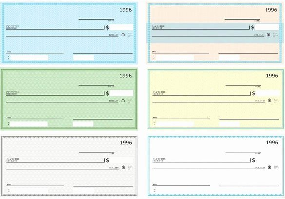 Check Template for Word Best Of 6 Blank Check Templates for Microsoft Word Website
