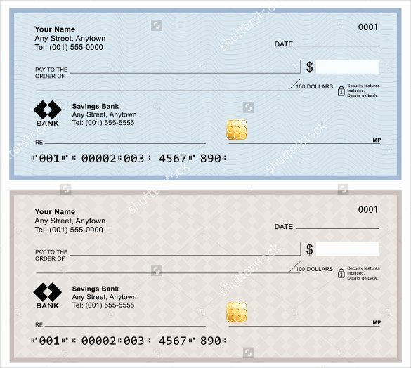 Check Template for Word Inspirational 7 Blank Check Templates for Microsoft Word Website
