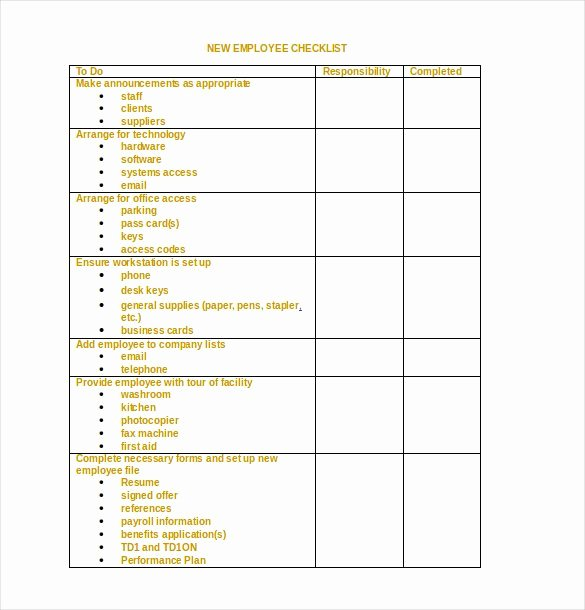 Check Template for Word New 34 Word Checklist Templates