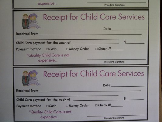 Child Care Payment Receipt New Quotes About Receipts 78 Quotes