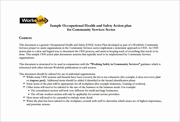 Child Safety Plan Template Best Of S Free Construction Safety Program Template