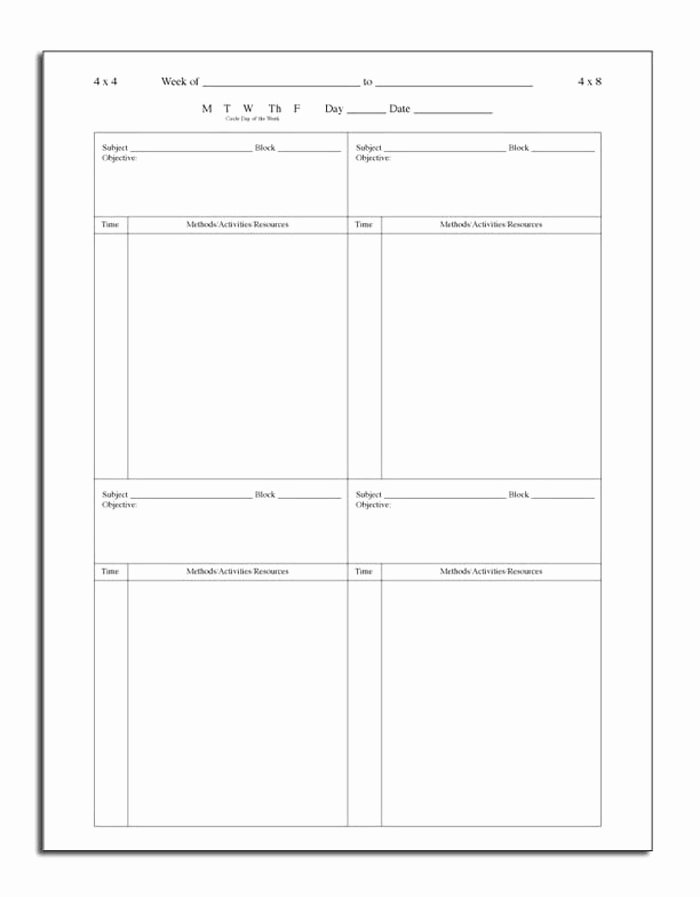 Choir Rehearsal Plan Template Awesome 60 Best Lesson Plan Templates Images On Pinterest