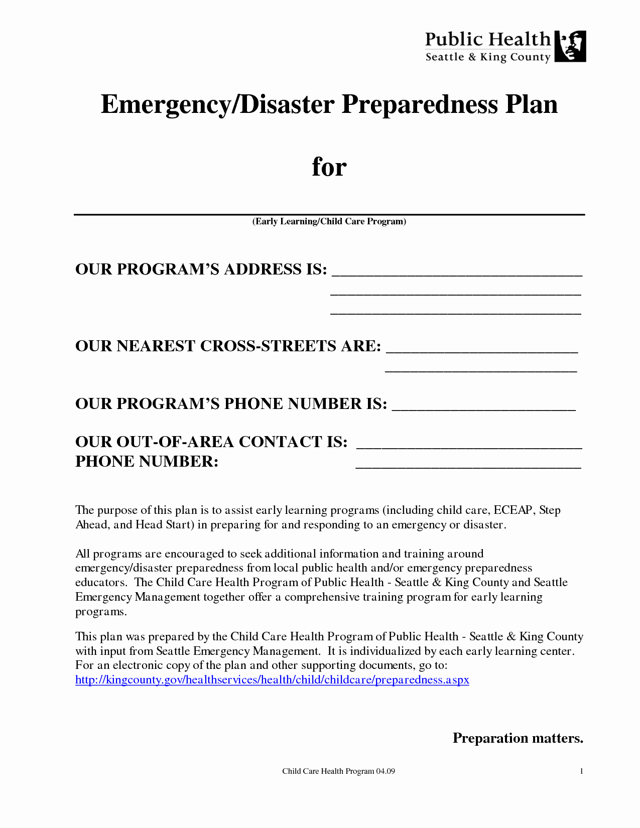 Church Emergency Action Plan Template Fresh Best S Of Disaster Preparedness Plan Sample