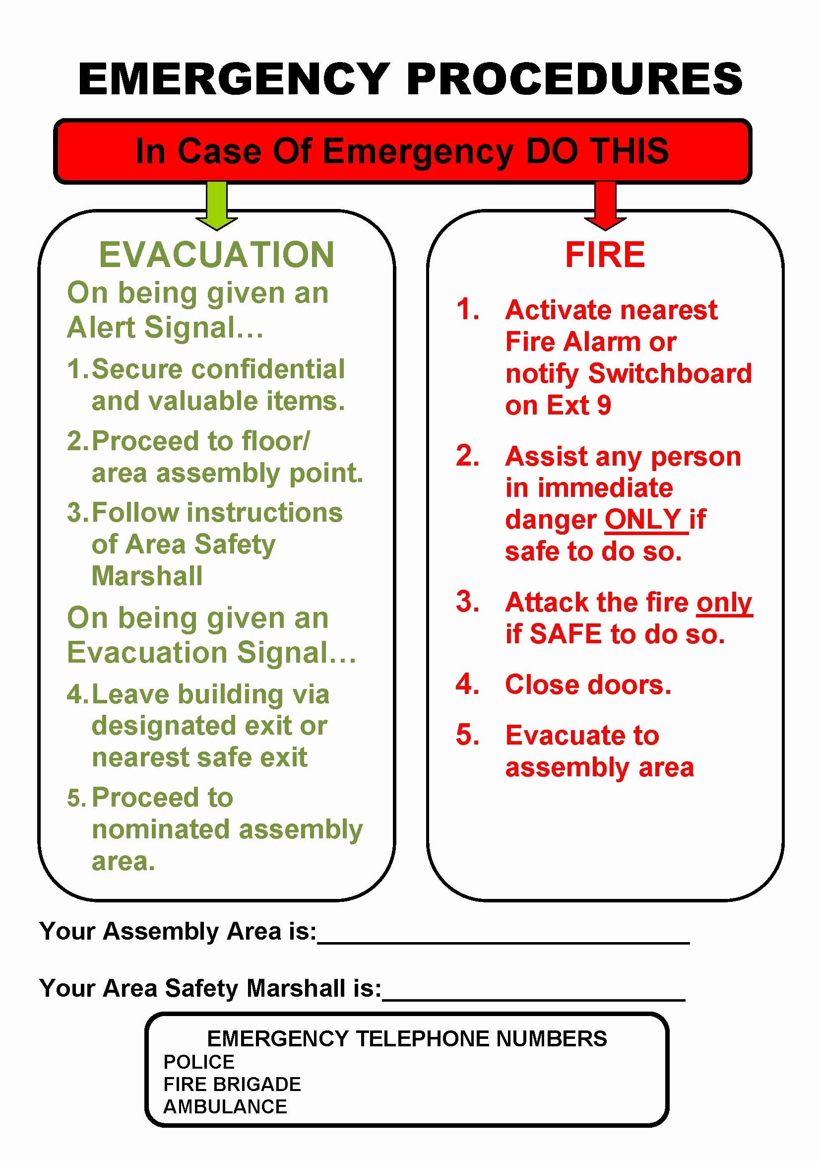 Church Emergency Action Plan Template Unique Munication Plan Emergency Munication Plan Hotel