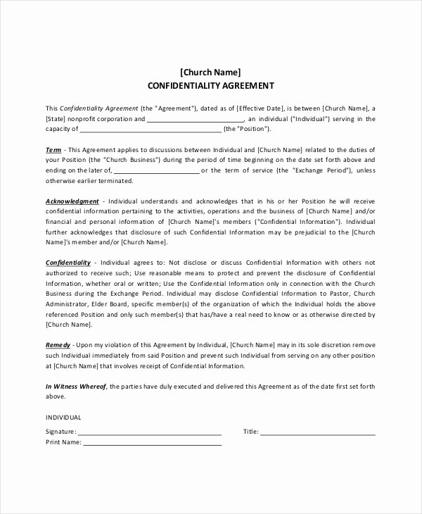 Church Facility Rental Agreement Template Fresh Pastor Contract Template Cover Letter Samples Cover