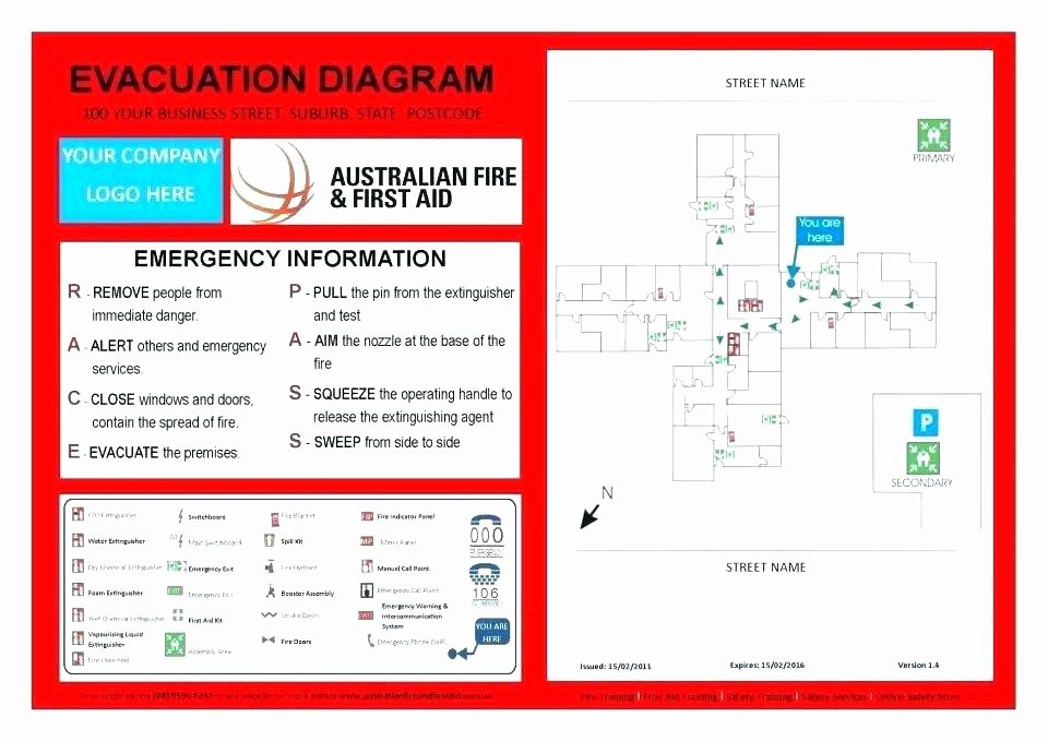 Church Security Plan Template Beautiful Acuation Sample Emergency Evacuation Floor Template