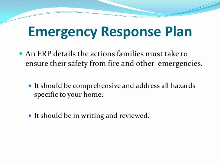 Church Security Plan Template Luxury Sample Fire Evacuation Plan Child Care Emergency Response