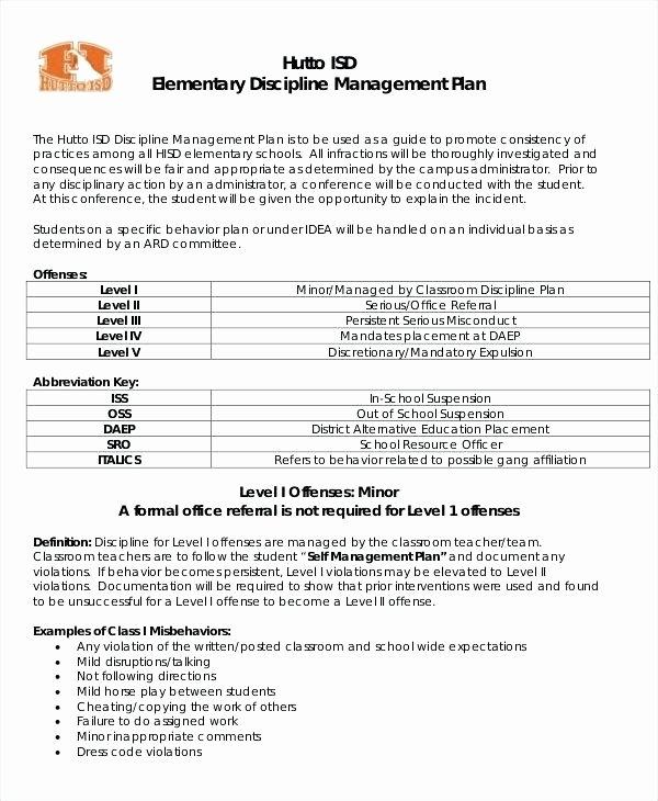 Classroom Management Plan Template Elegant In School Suspension Worksheets – Elestalle