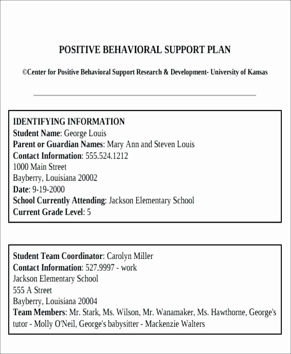 Classroom Management Plan Template Elementary Beautiful Behavior Chart Template Kids High School Free Templates