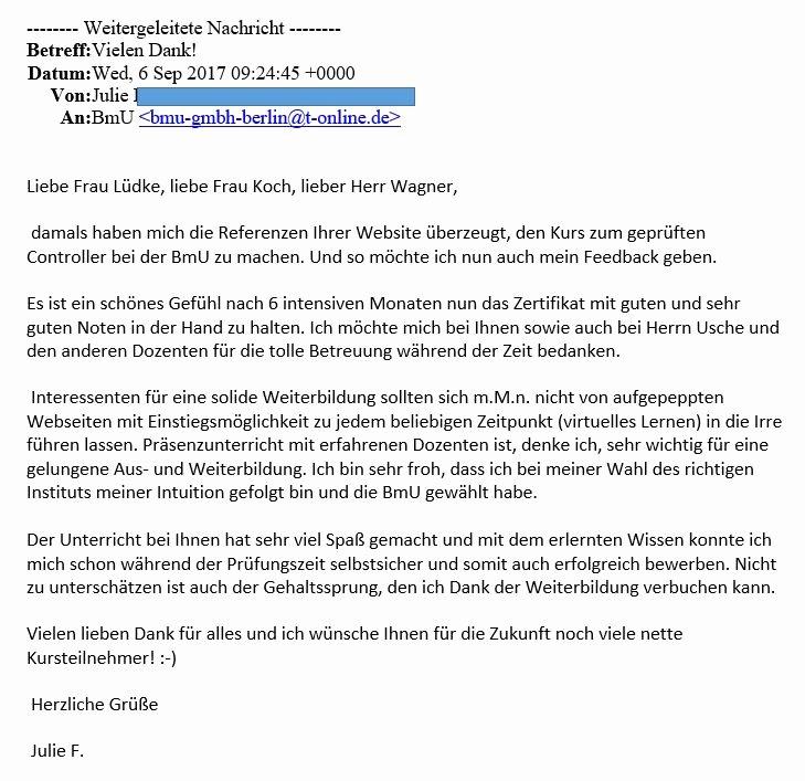 Client Letter format for H1b Luxury Referenzen Bmu Wirtschafts Und Steuerfachschule