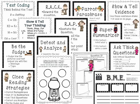 Close Reading Lesson Plan Template Beautiful Reading Lesson Plans Anchor Charts and Texts On Pinterest