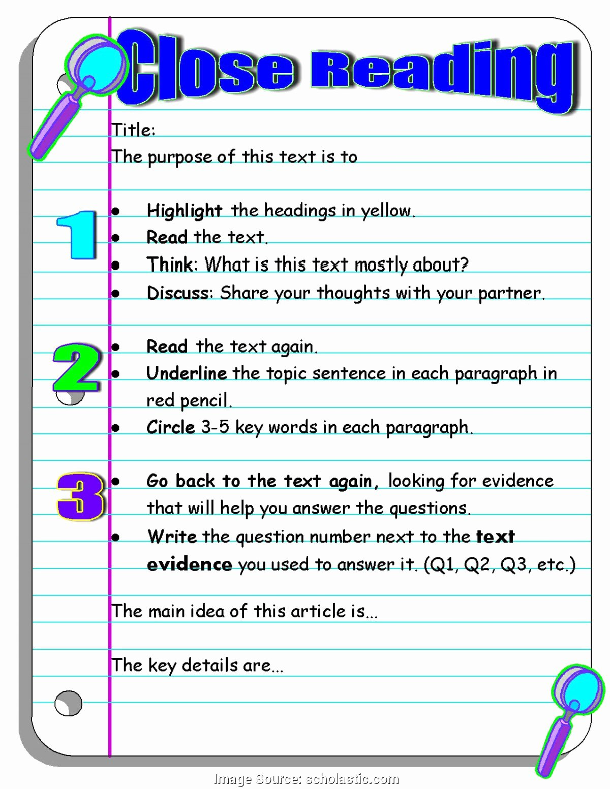 Close Reading Lesson Plan Template Beautiful Valuable Close Reading Lesson Plan 8th Grade Investigating