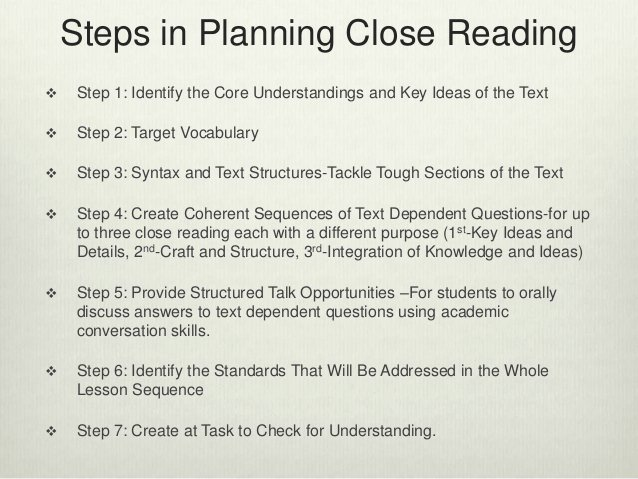Close Reading Lesson Plan Template New Crafting Successful Close Reading Lessons Using Text