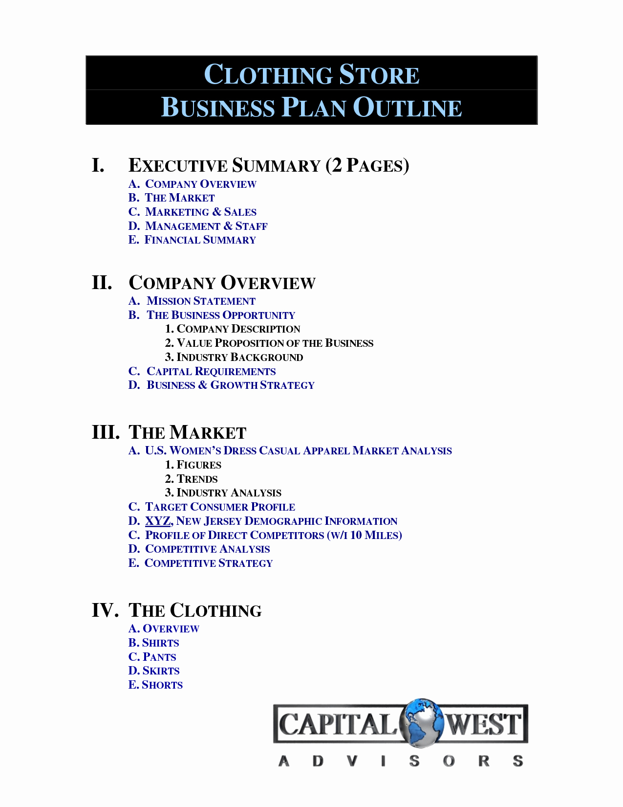 Clothing Line Business Plan Template Awesome Pinterest