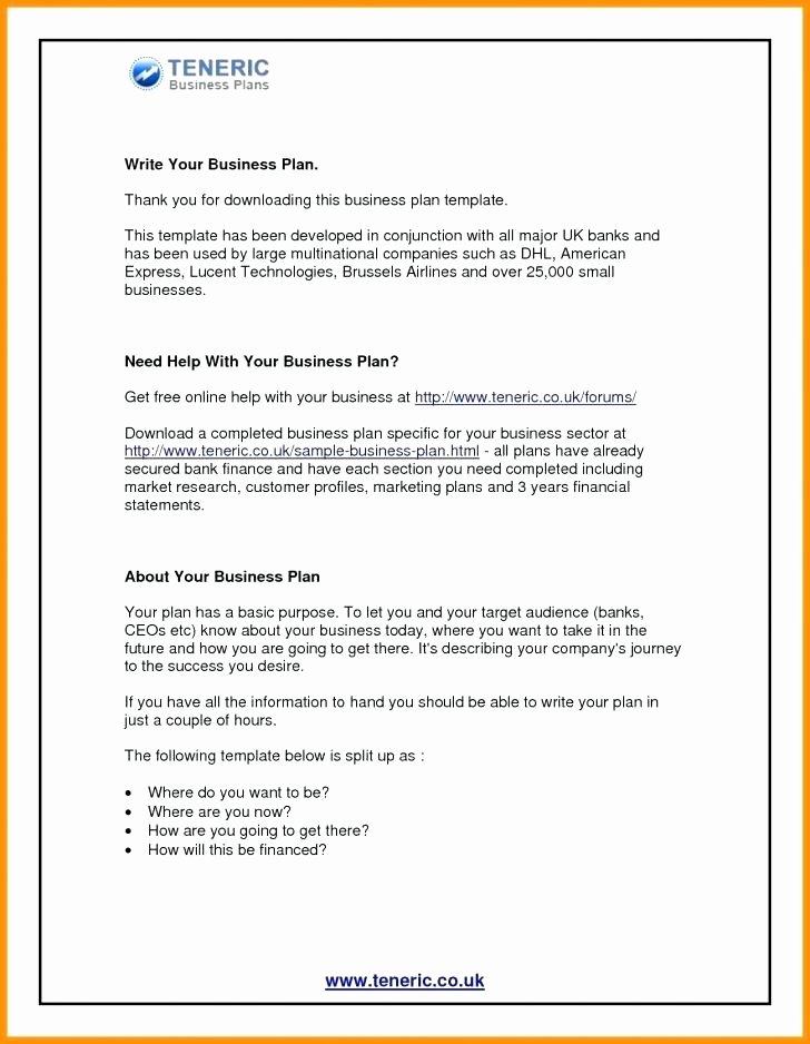 Clothing Line Business Plan Template Unique Sba Sample Business Plan How to Write A Sba Business Plan