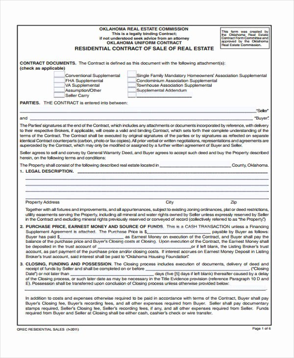 Co-ownership Agreement Real Estate Template Beautiful 16 Sale Contract Template Pages Word
