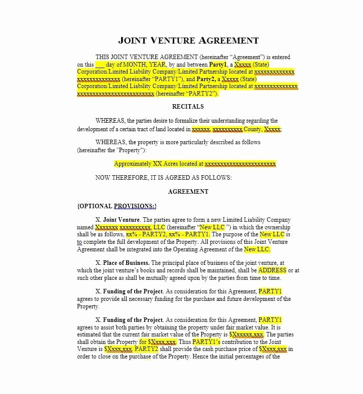 Co Ownership Agreement Real Estate Template Lovely Joint House Ownership Agreement Template