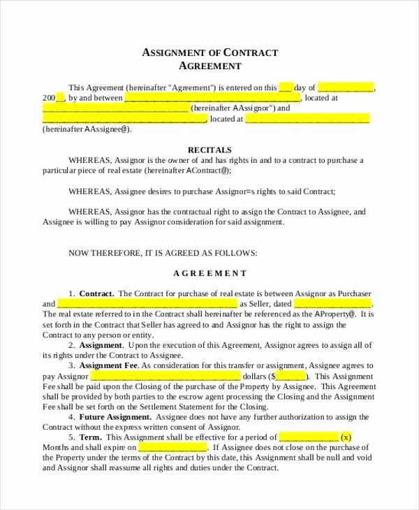 Co-ownership Agreement Real Estate Template New Contract form Templates